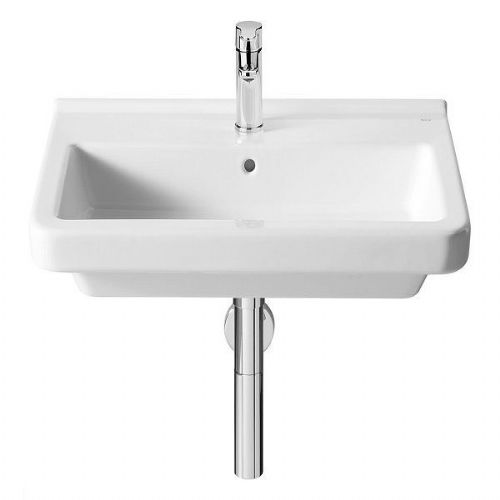 Roca Dama-N Wall Hung Basin - 600mm - 1 Tap Hole - White